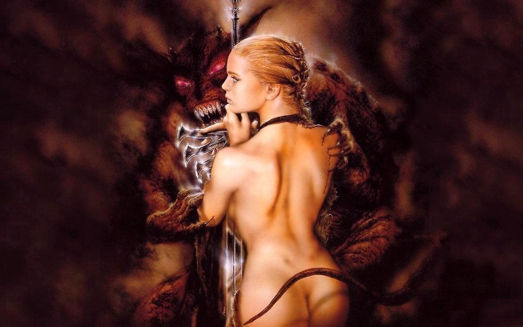 девушки фэнтези эротичные - 8