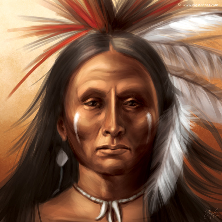 Game character - The Apache