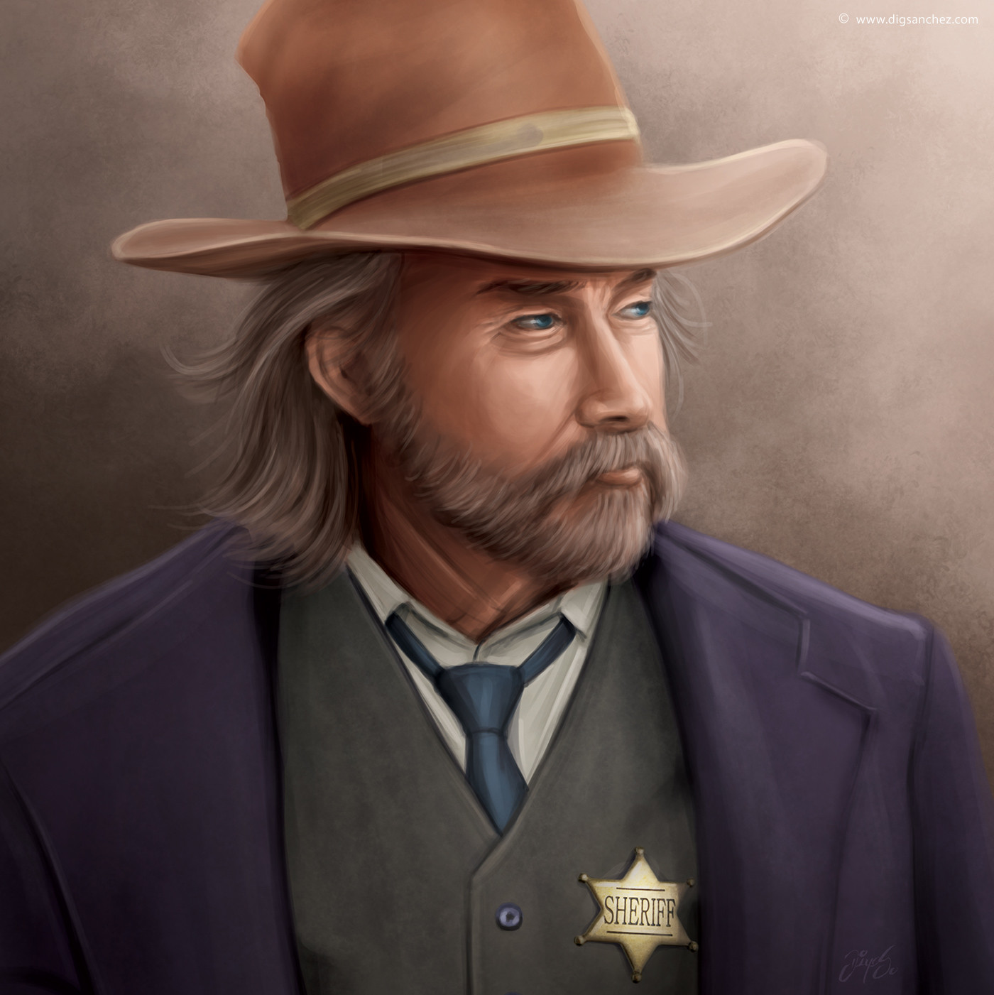 Game character - Sheriff