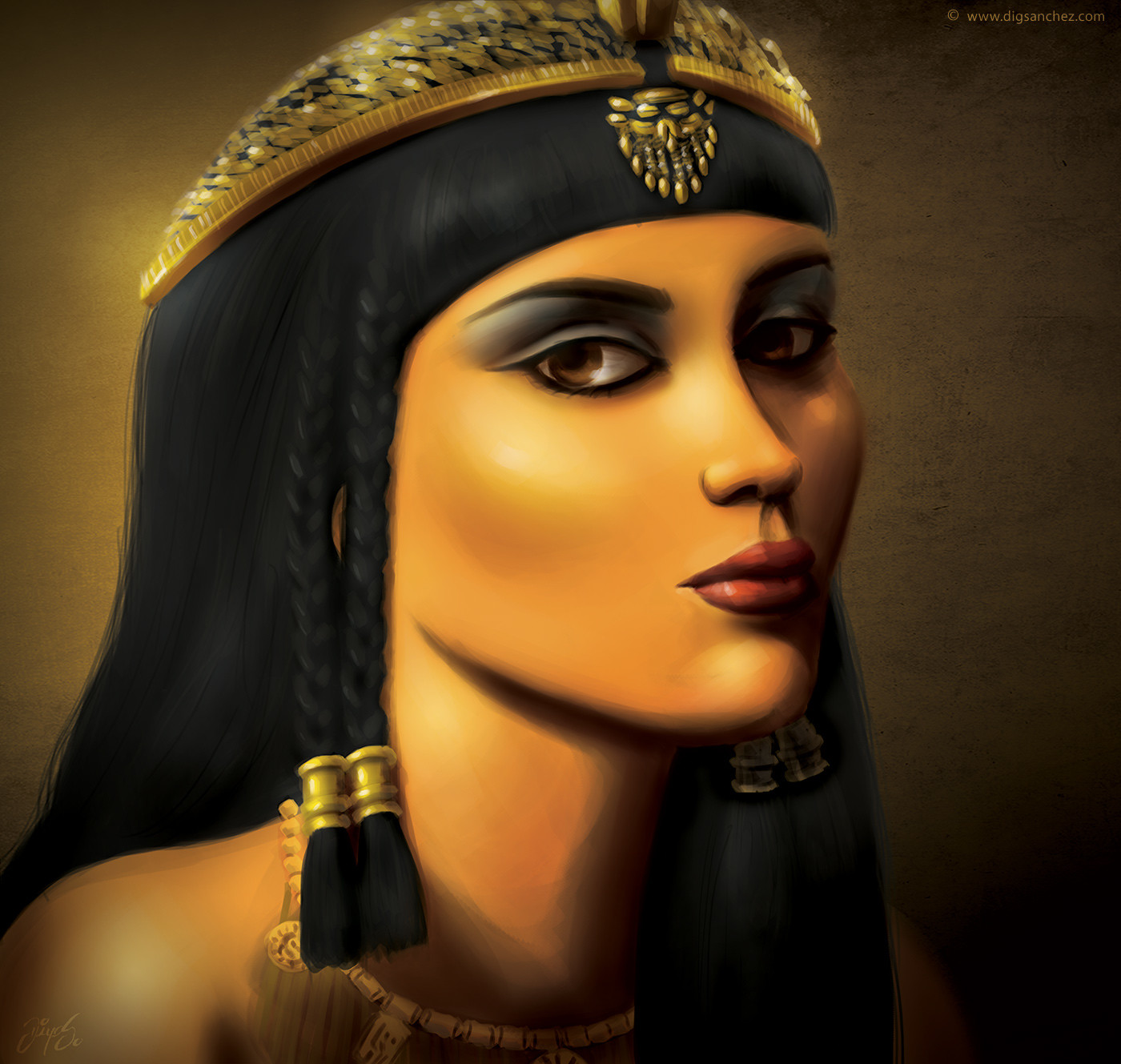 Card character - Cleopatra