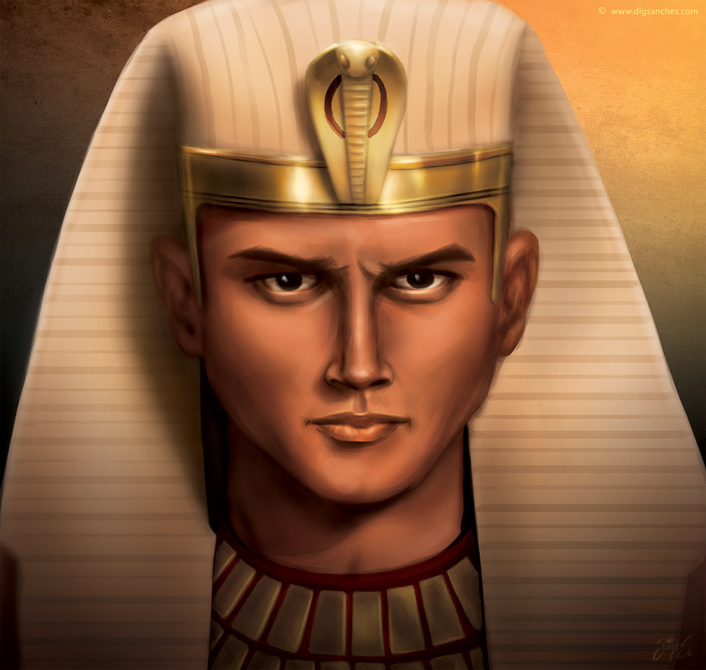 Card character - King Ramsés II
