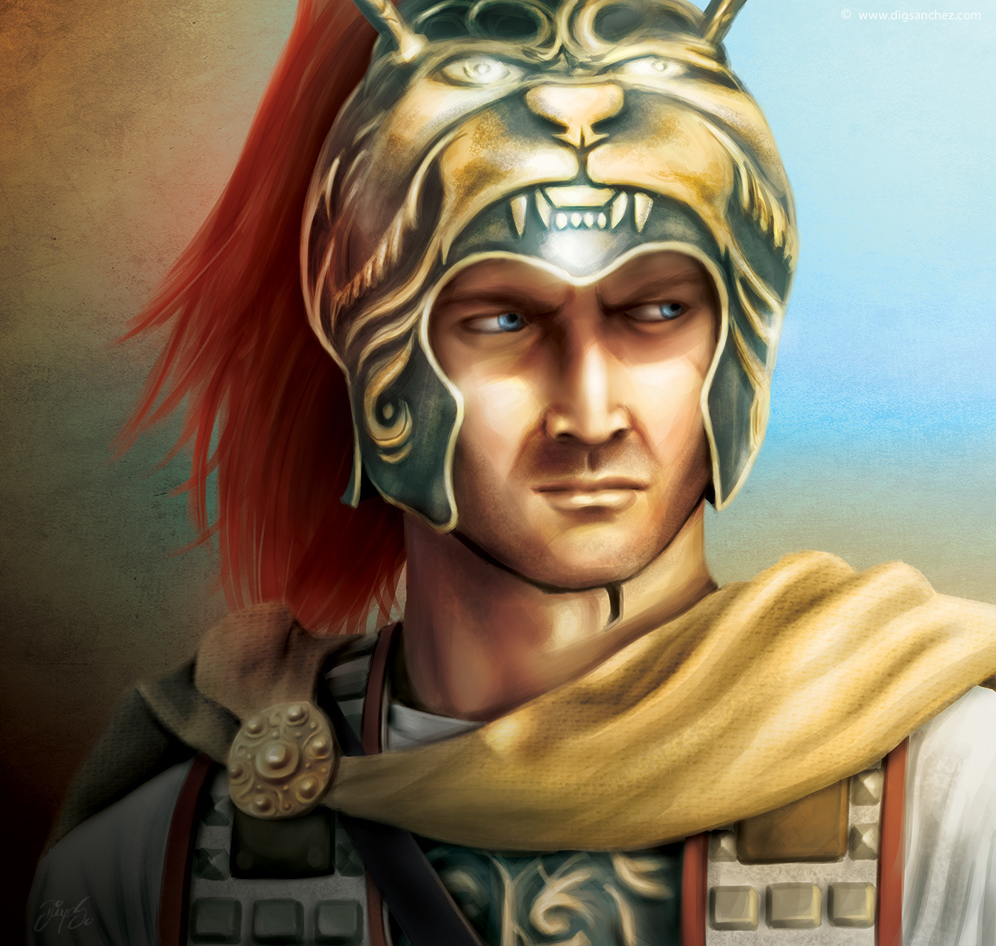 Card character - Alexander the Great