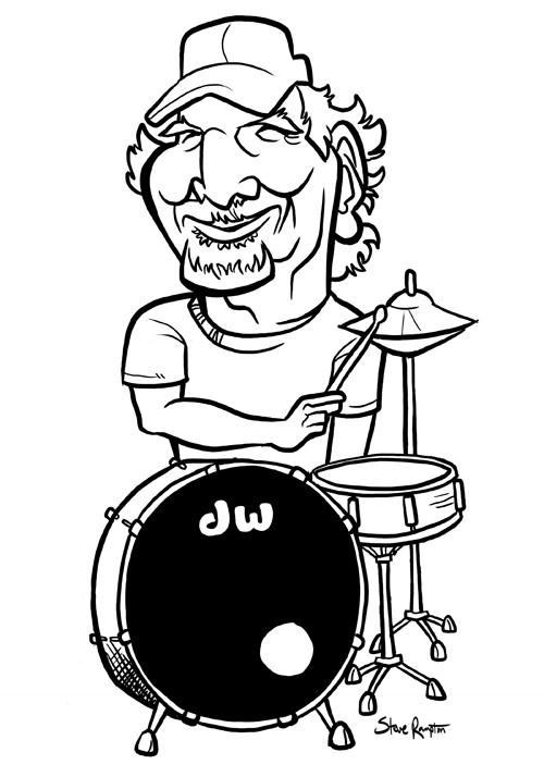 Steve rampton drummer2 small