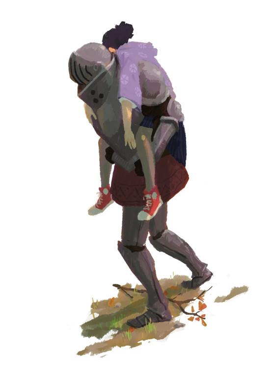 Olivier le borgne fuite