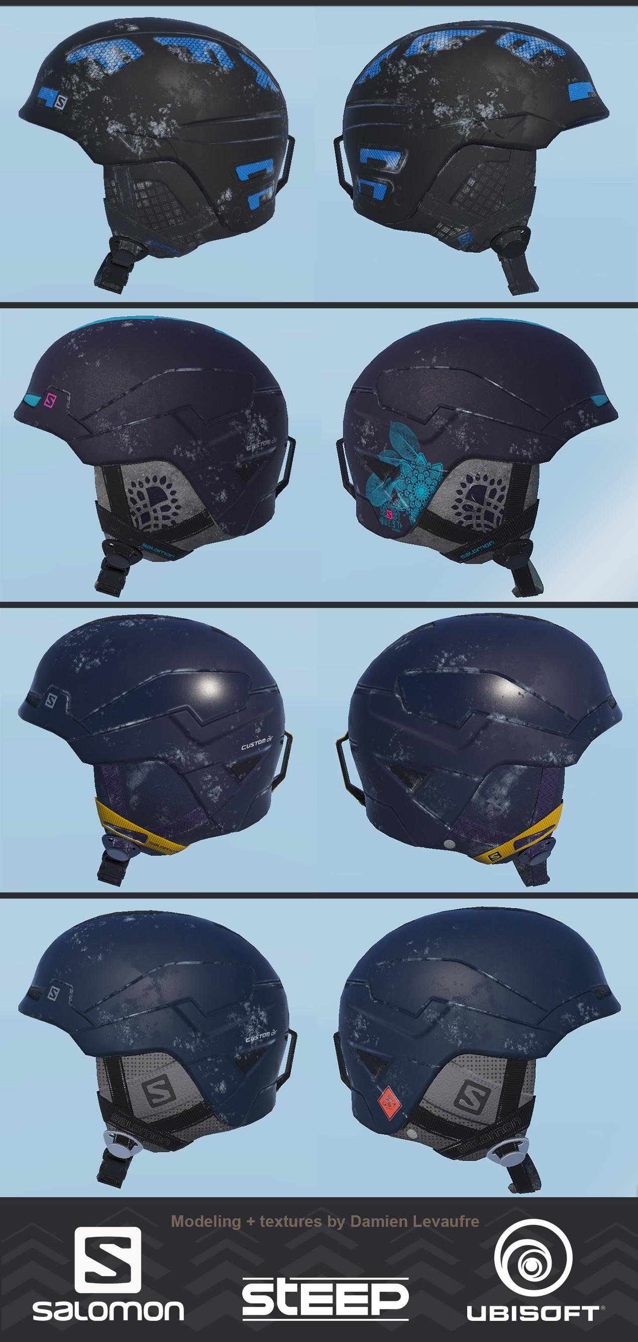 Damien levaufre helmet 004 salomon presentation