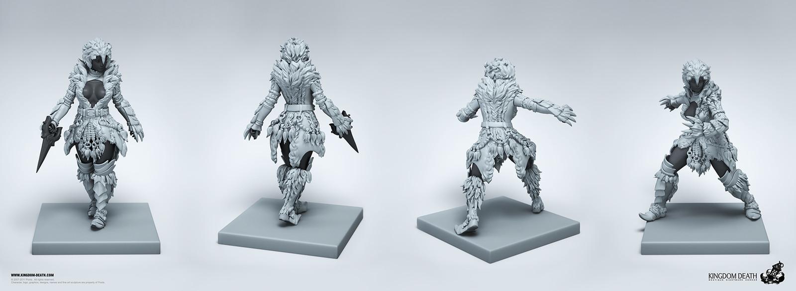Female Lion Armor