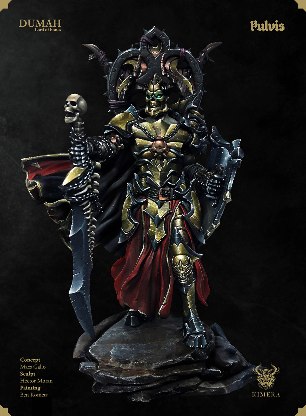 Pulvis Dumah - Warlord Version