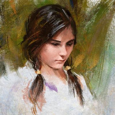 Jennifer mills shmid portrait study