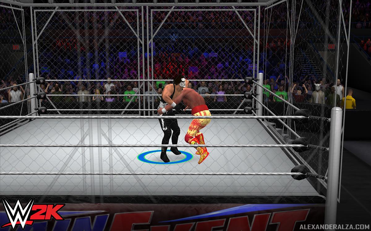 WWE 2K Mobile running in Unity.