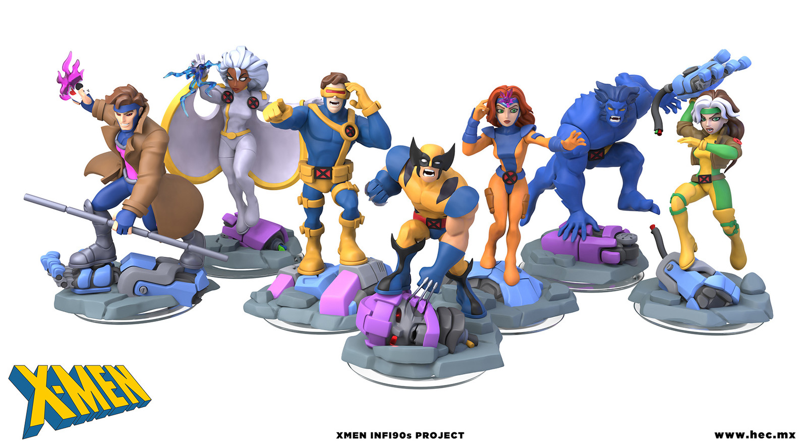 X-Men Inf90s Project And Making Of
