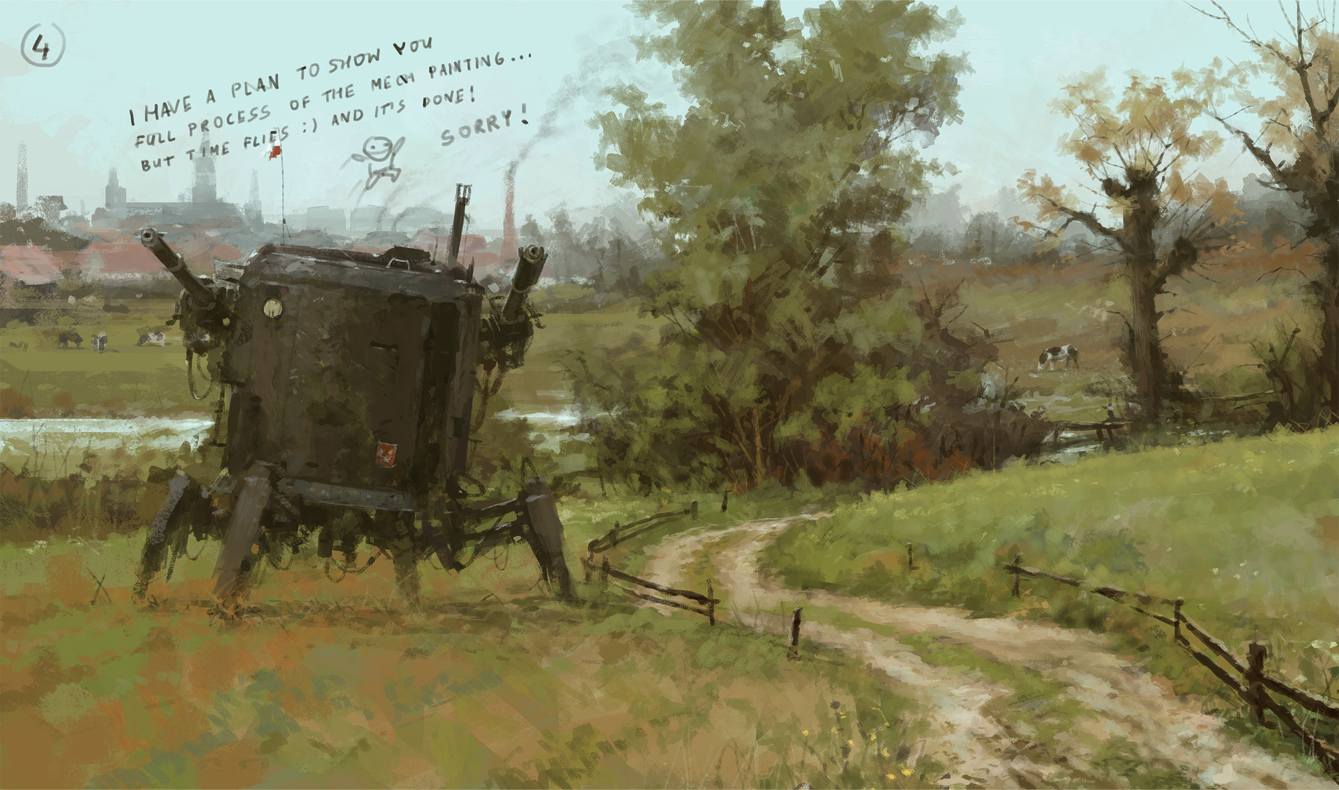 Jakub rozalski breakfast is coming ih 16012016 processr4