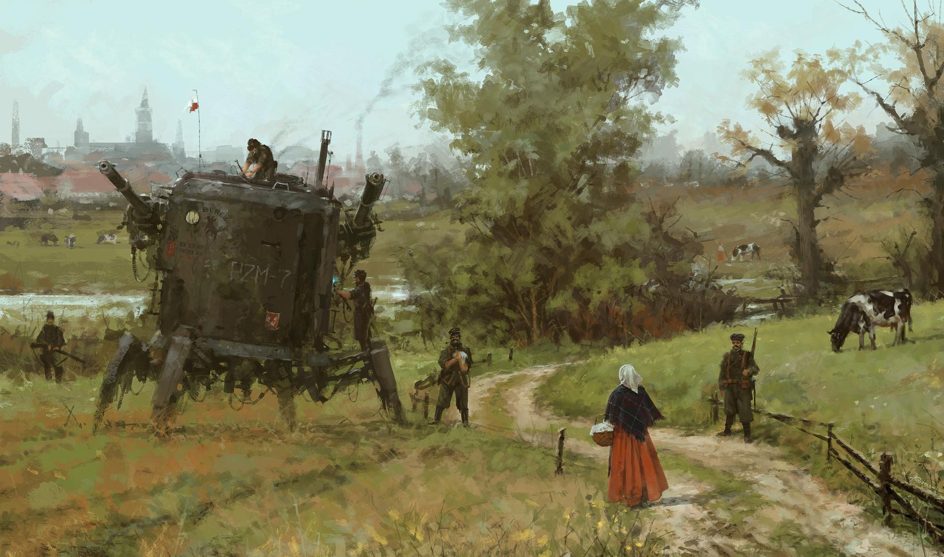 Jakub rozalski iron harvest 13010216