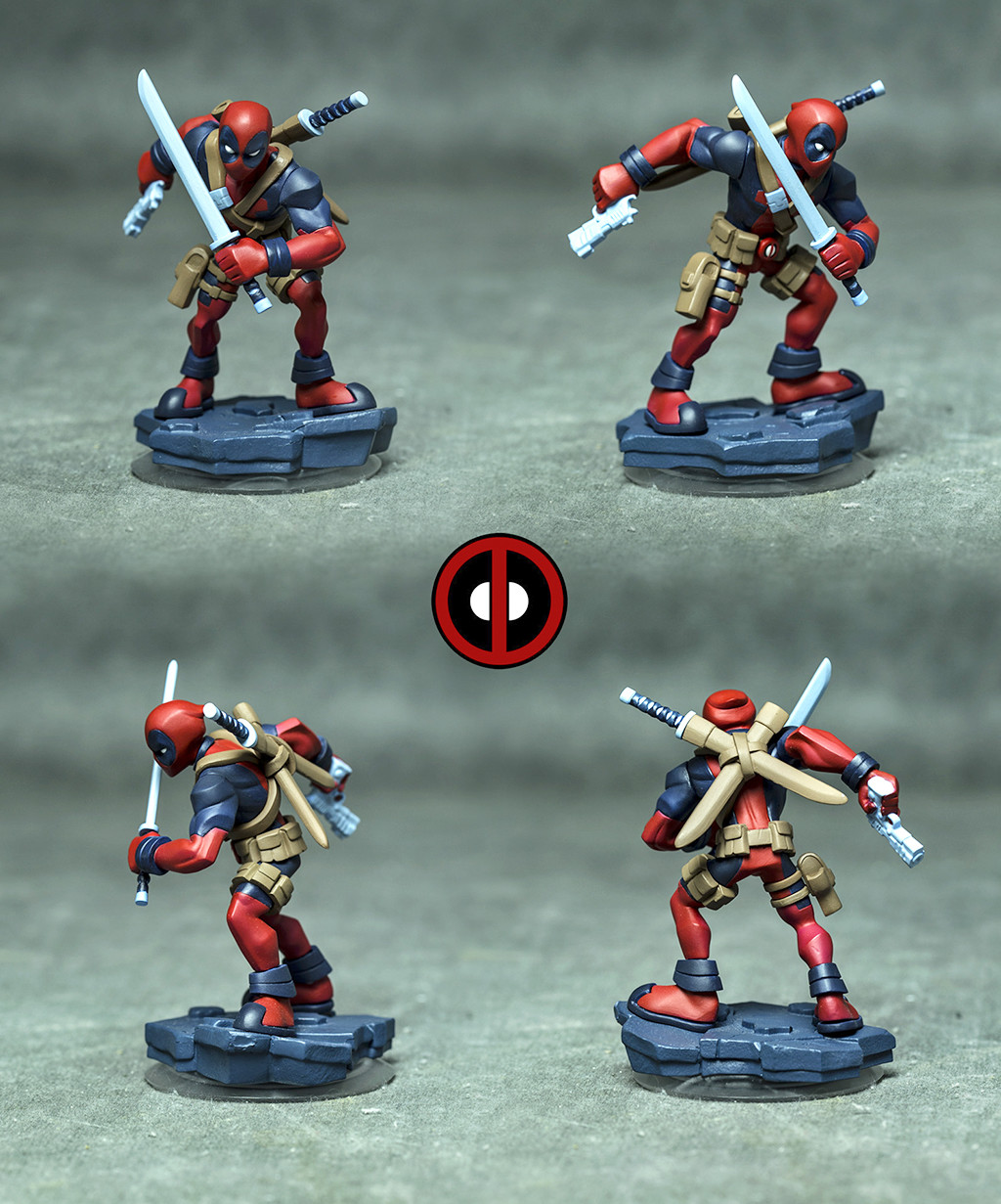 Hector moran hec deadpool painted comp