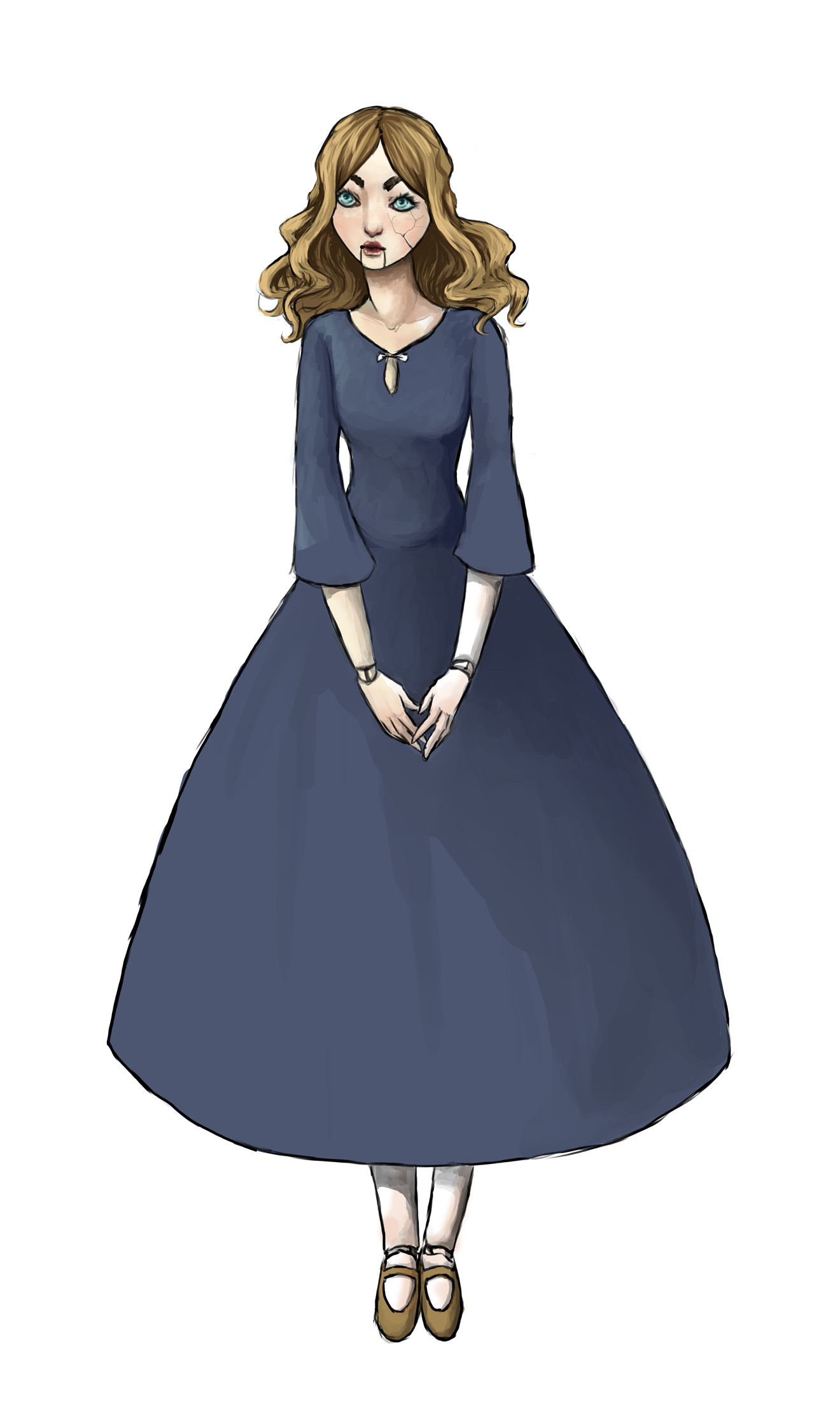 Elizabeth boren dollwip