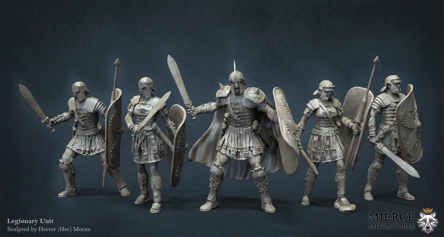 Hector moran hec legionaries
