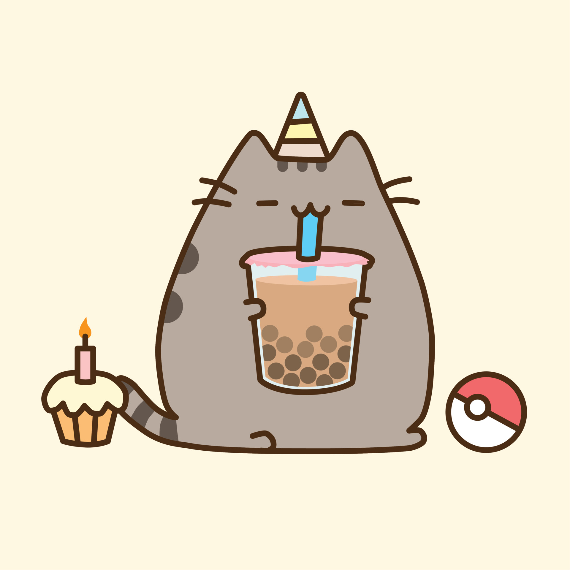 List of Synonyms and Antonyms of the Word: pusheen birthday