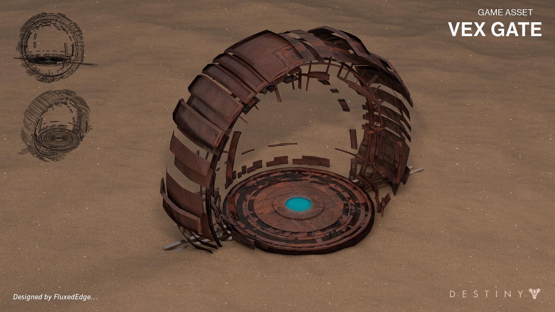 Vex Gate - 3D Model