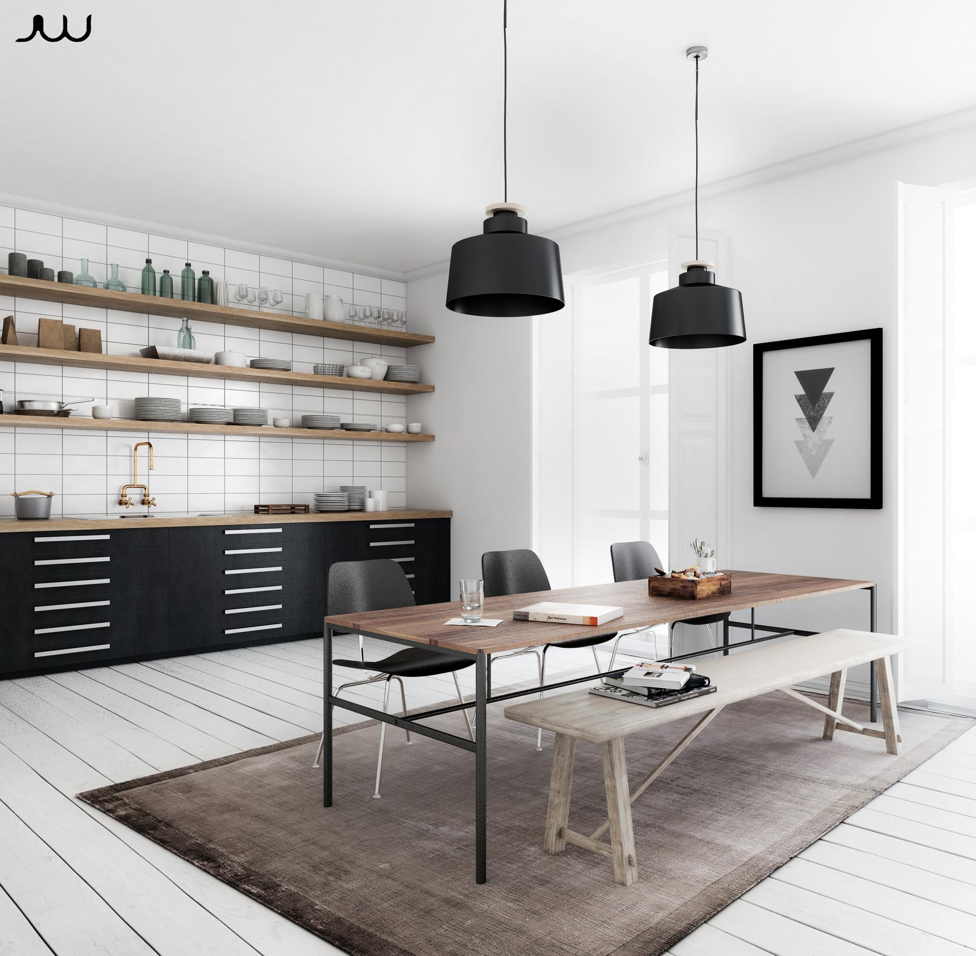 Javier Wainstein Scandinavian Kitchen