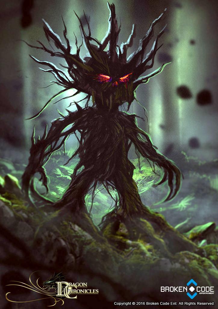 Tree Lurker - Dragon Chronicles