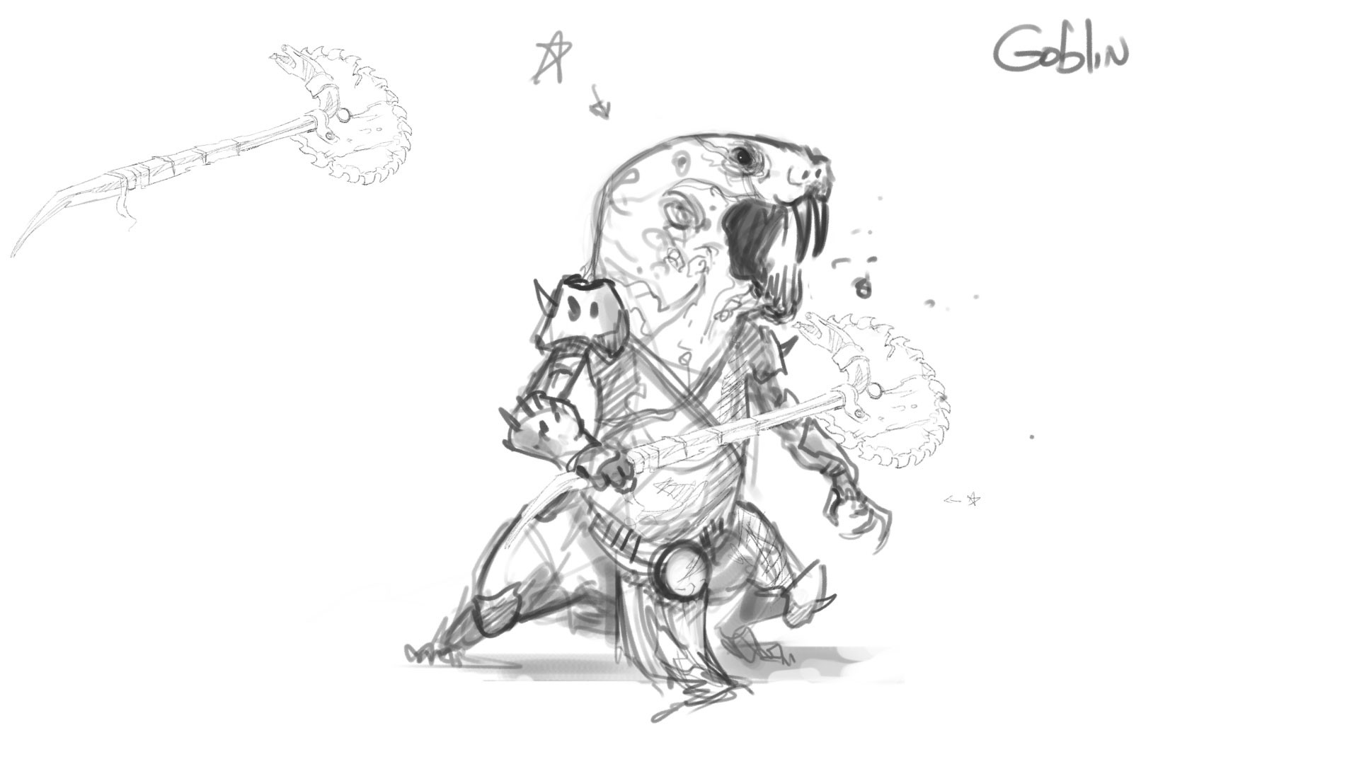 Michael rookard bestiary goblin1
