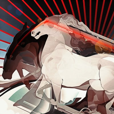 Liger inuzuka futurism horse wtrmrk 900px
