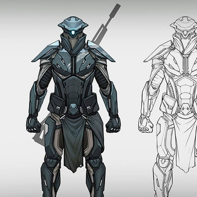 Nagy norbert lawbreakers sniper character concept2