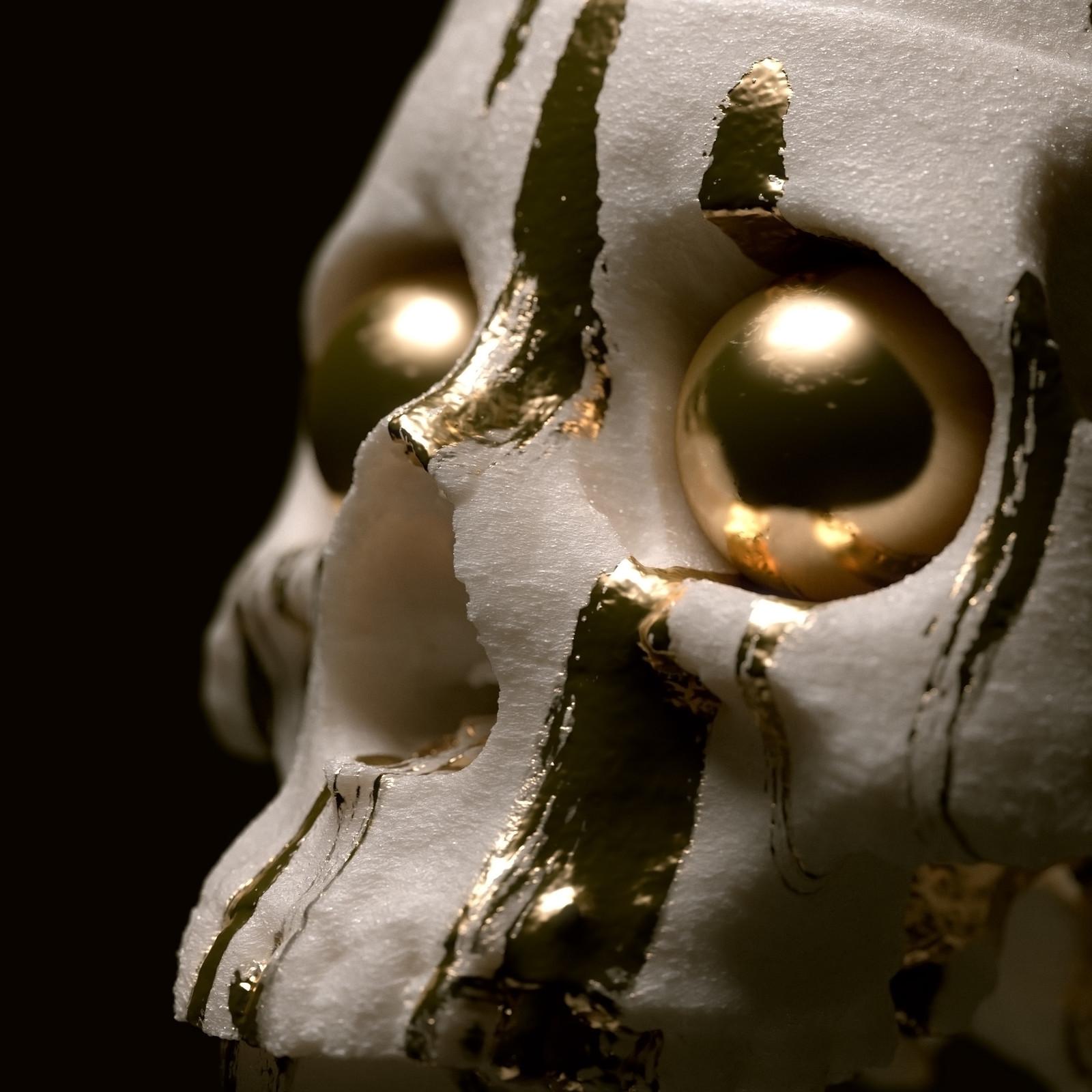 Gold Skull Thing