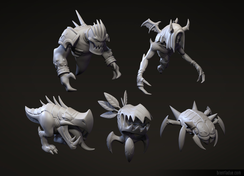 Brent ladue brent ladue dotacreatures sculpts 01