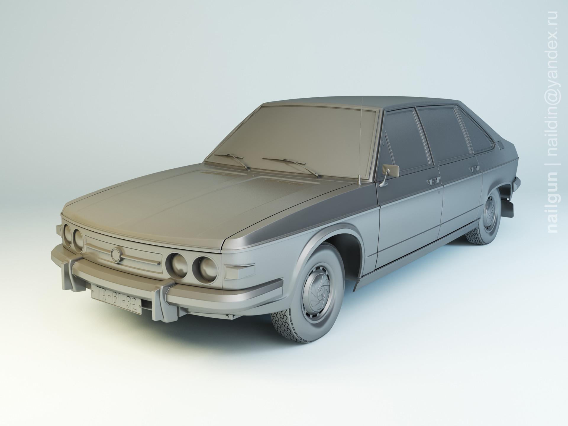 Nail khusnutdinov als 160 003 tatra 613 1 modelling 0