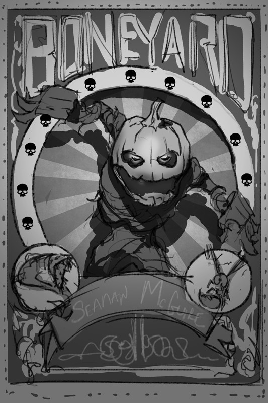 Boneyard Sketch 2