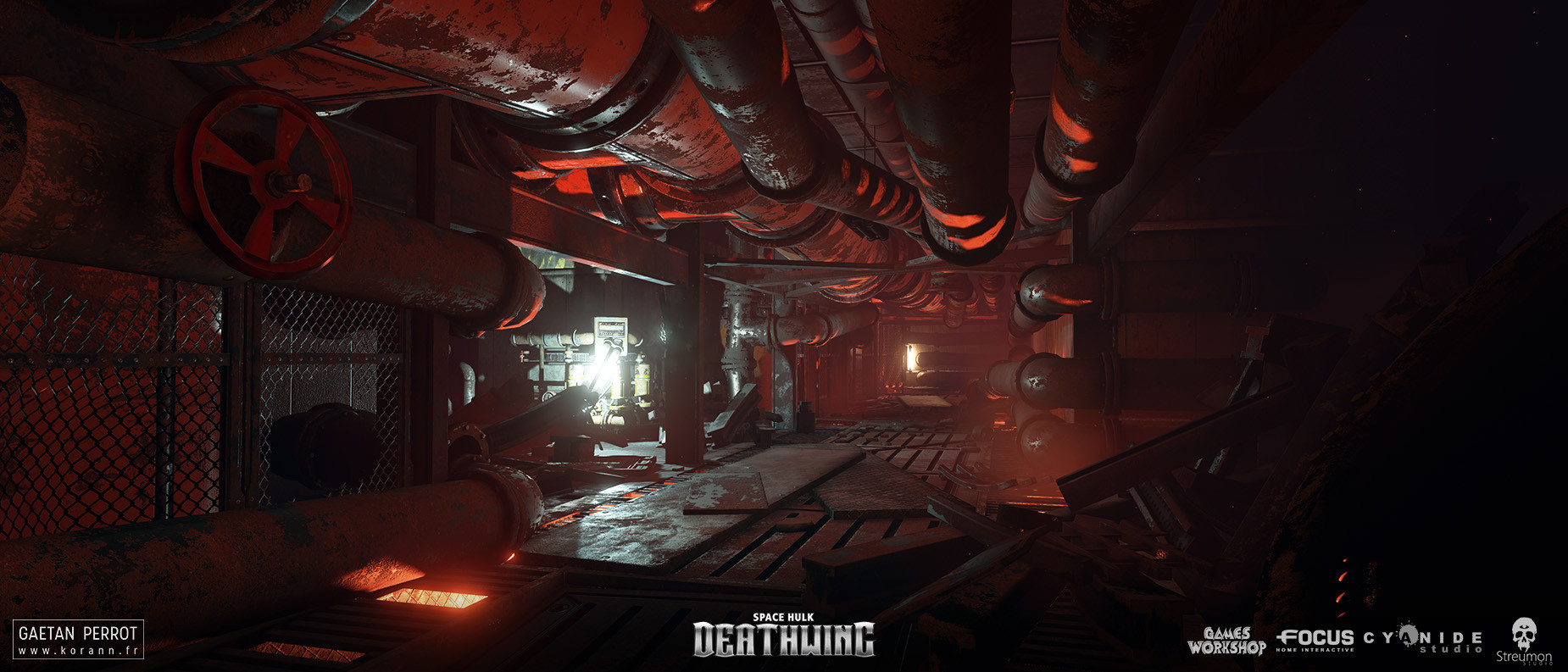 ArtStation - Space Hulk Deathwing - Generic Environments 02, Gaëtan