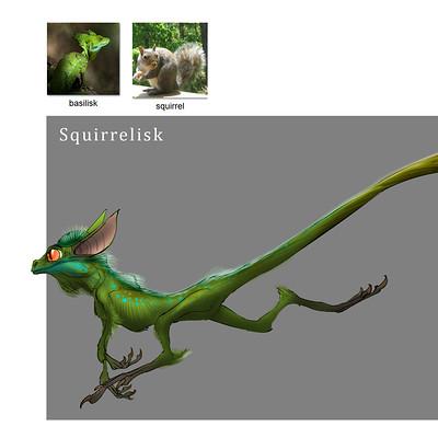 Midhat kapetanovic random creature mashup 004 squirrelisk