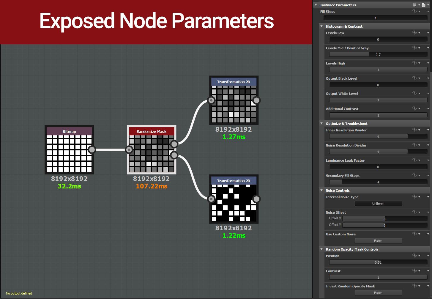 ArtStation - Randomize Mask Node / Variation Map for