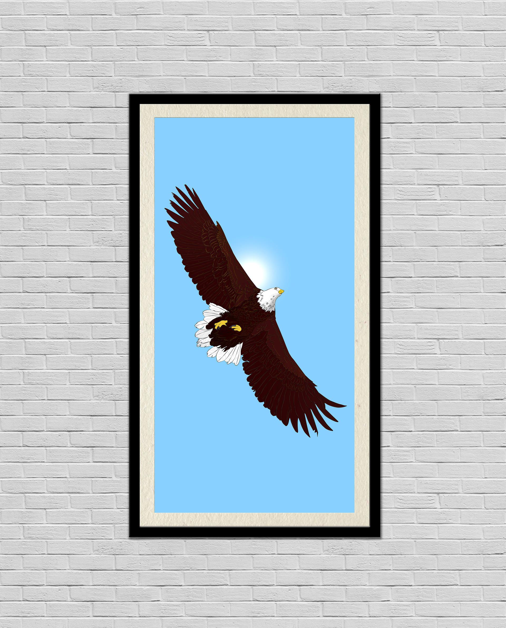 Rajesh sawant eagle mockup