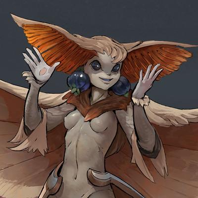 Markus lenz moth girl