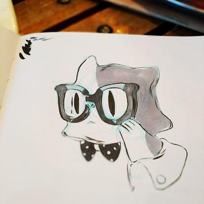 Miriam gibson nerd cat 1
