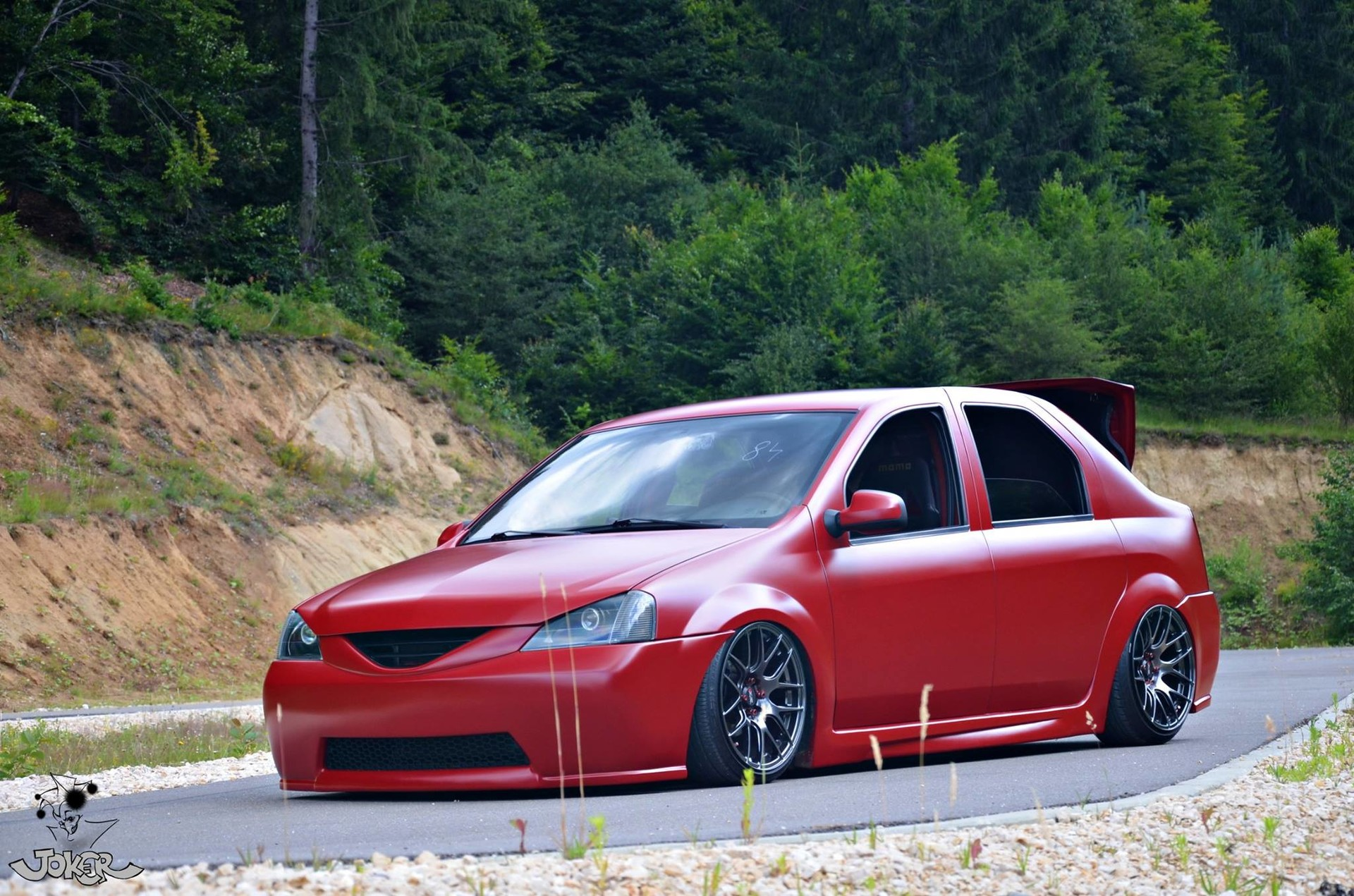 This is the car looked before the refresh. Air-ride, XXR wheels and a lot of custom body work.