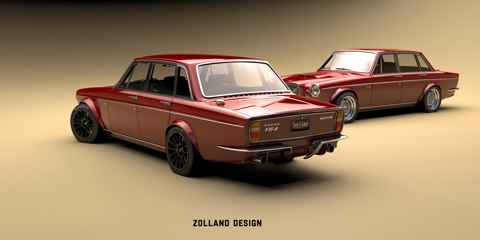 Bo Zolland Custom Volvo 164
