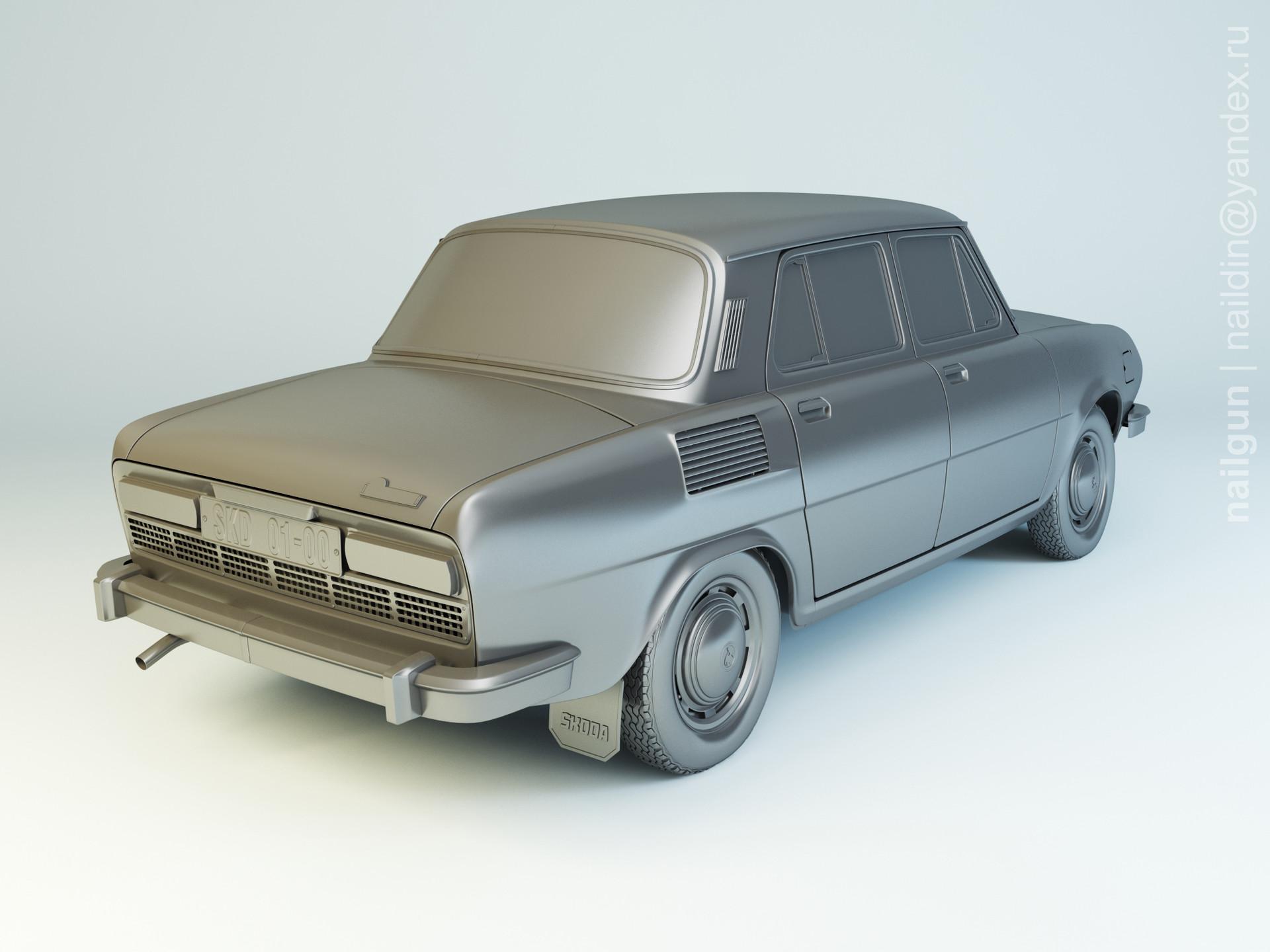 Nail khusnutdinov als 188 002 skoda 100 modelling 1