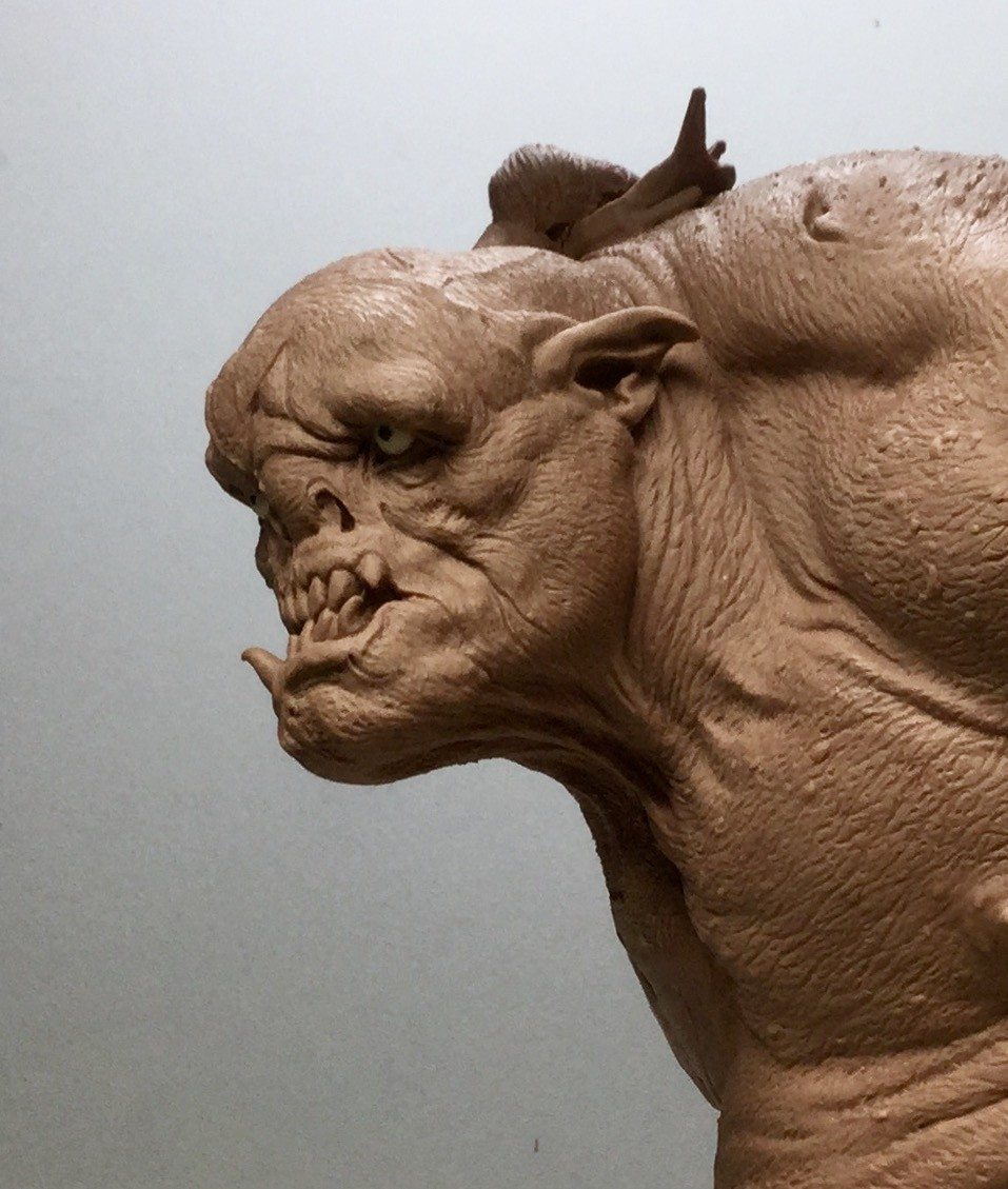 Orc/Monster clay