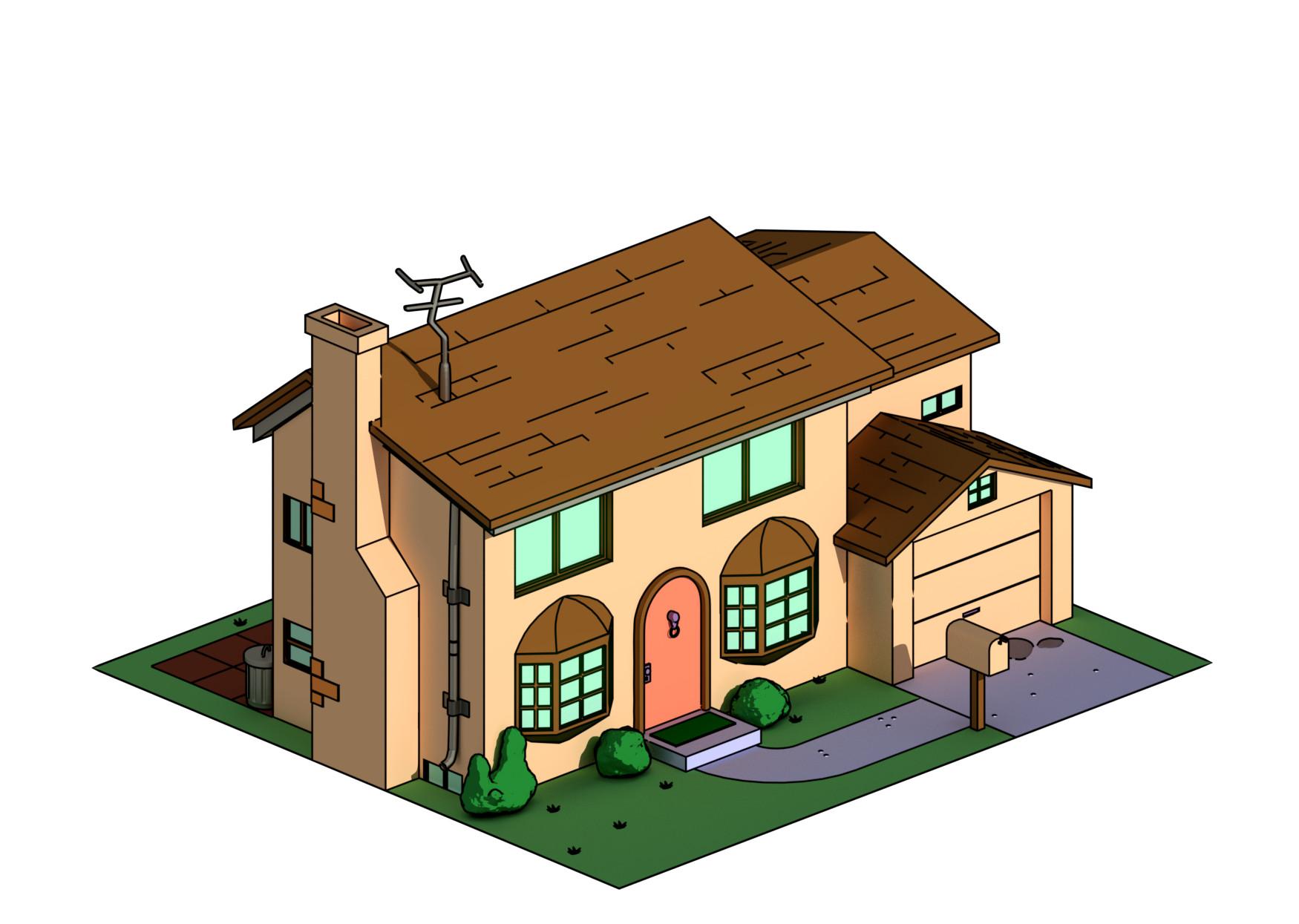 Simpsons Haus - Screenshot