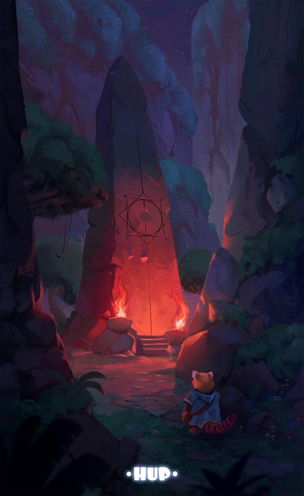 Hup - The ritual stone
