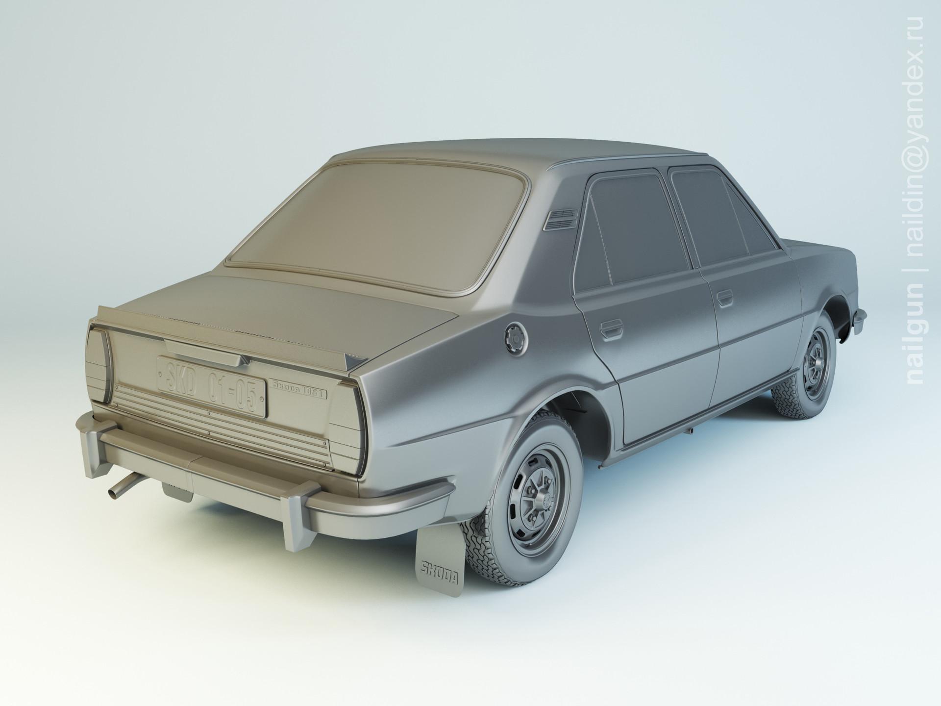 Nail khusnutdinov als 195 002 skoda 105 1980 modelling 1