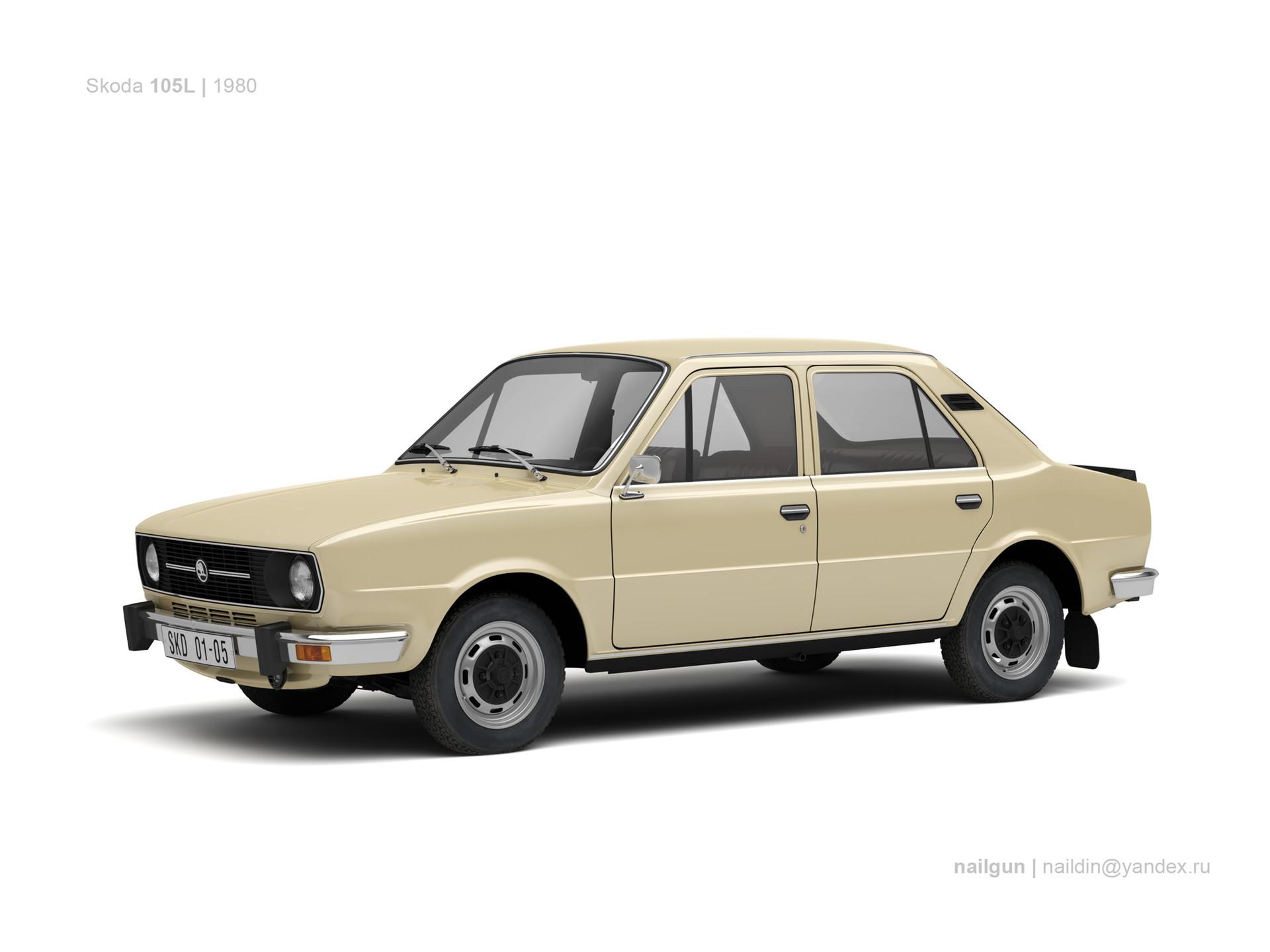 Nail khusnutdinov czechoslovakia skoda 105l 1980 0