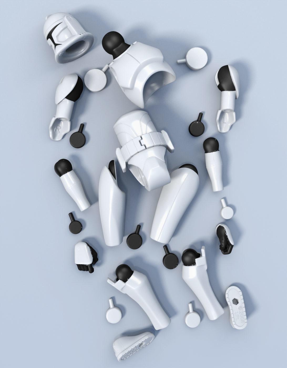 Zoltan korcsok clonetrooper parts