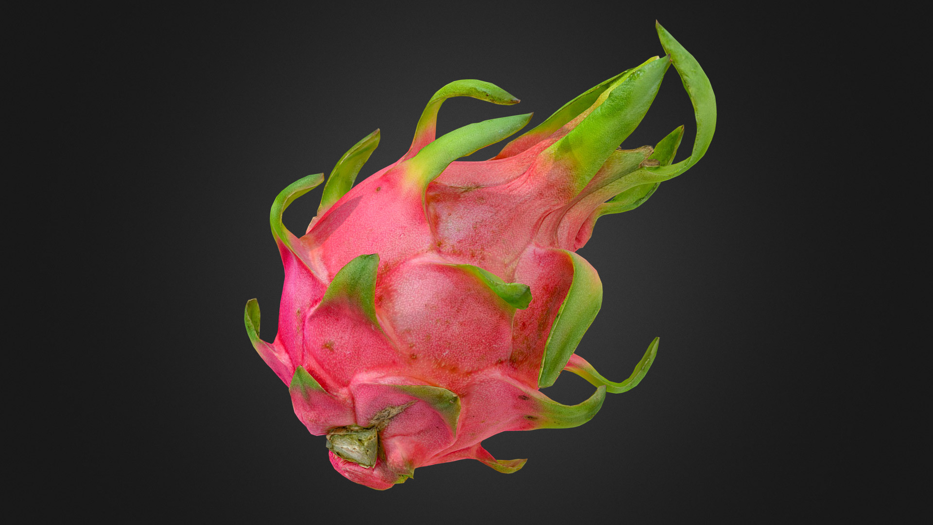 ArtStation - Dragon Fruit (Pitaya) for #3DScanFruitVeg (SketchFab