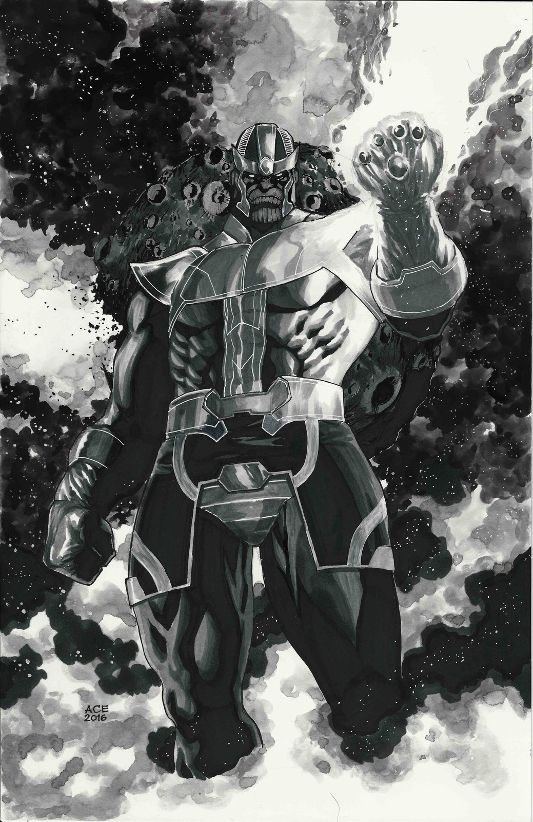 Thanos commission from Alamo City Comic-con 2016