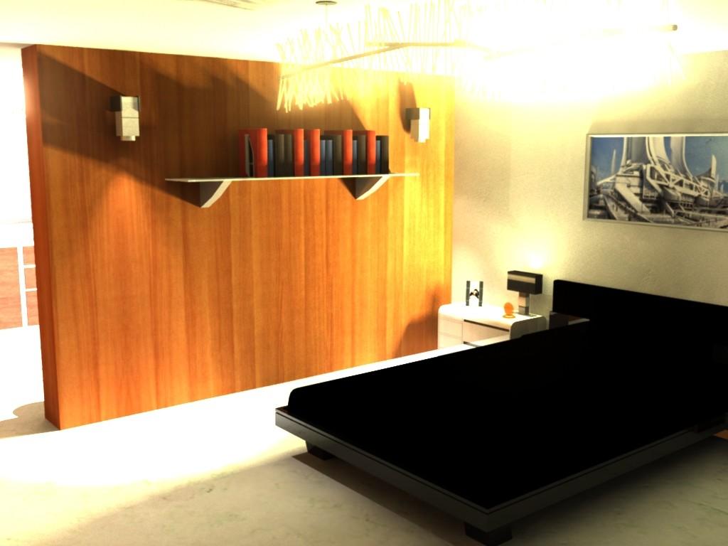 ArtStation - (WIP) Mass Effect inspired apartment, Alex Lawson