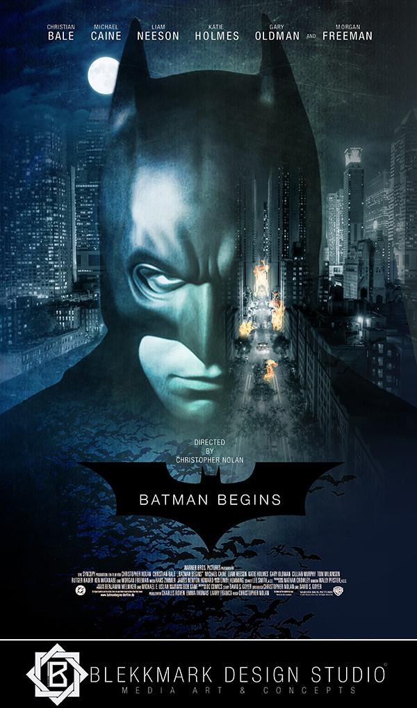 artstation batman begins cab blekkmark