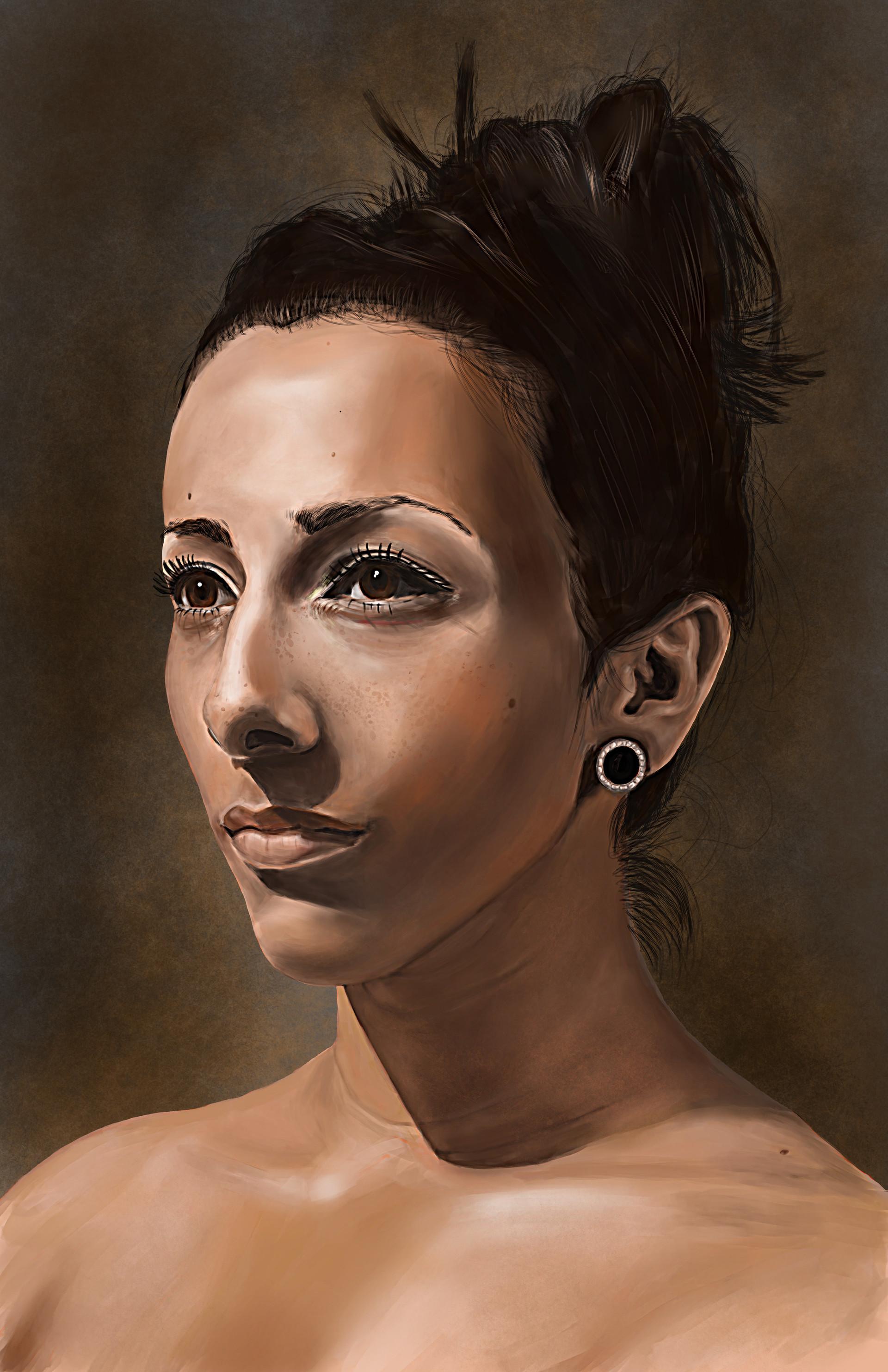 Chris qing qing zhao elements of digital painting portrait study 1